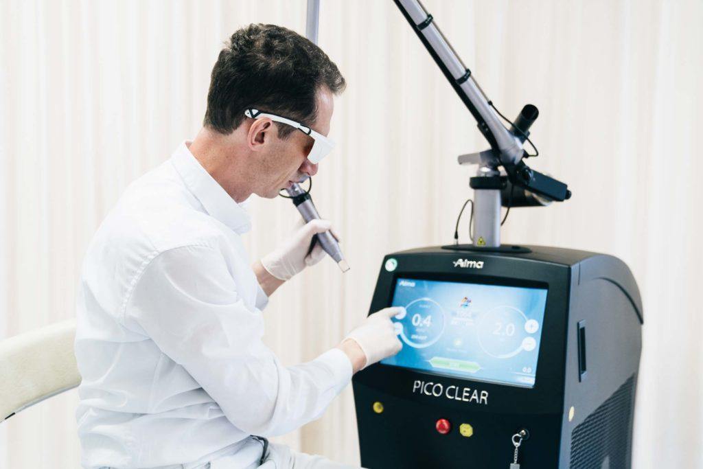 Laserzentrum Graz - Lasertherapie und Laserbehandlungen in Graz - Tattooentfernung in Graz 1