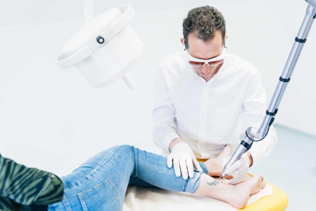 Laserzentrum Graz - Lasertherapie und Laserbehandlungen in Graz - Tattooentfernung in Graz 3